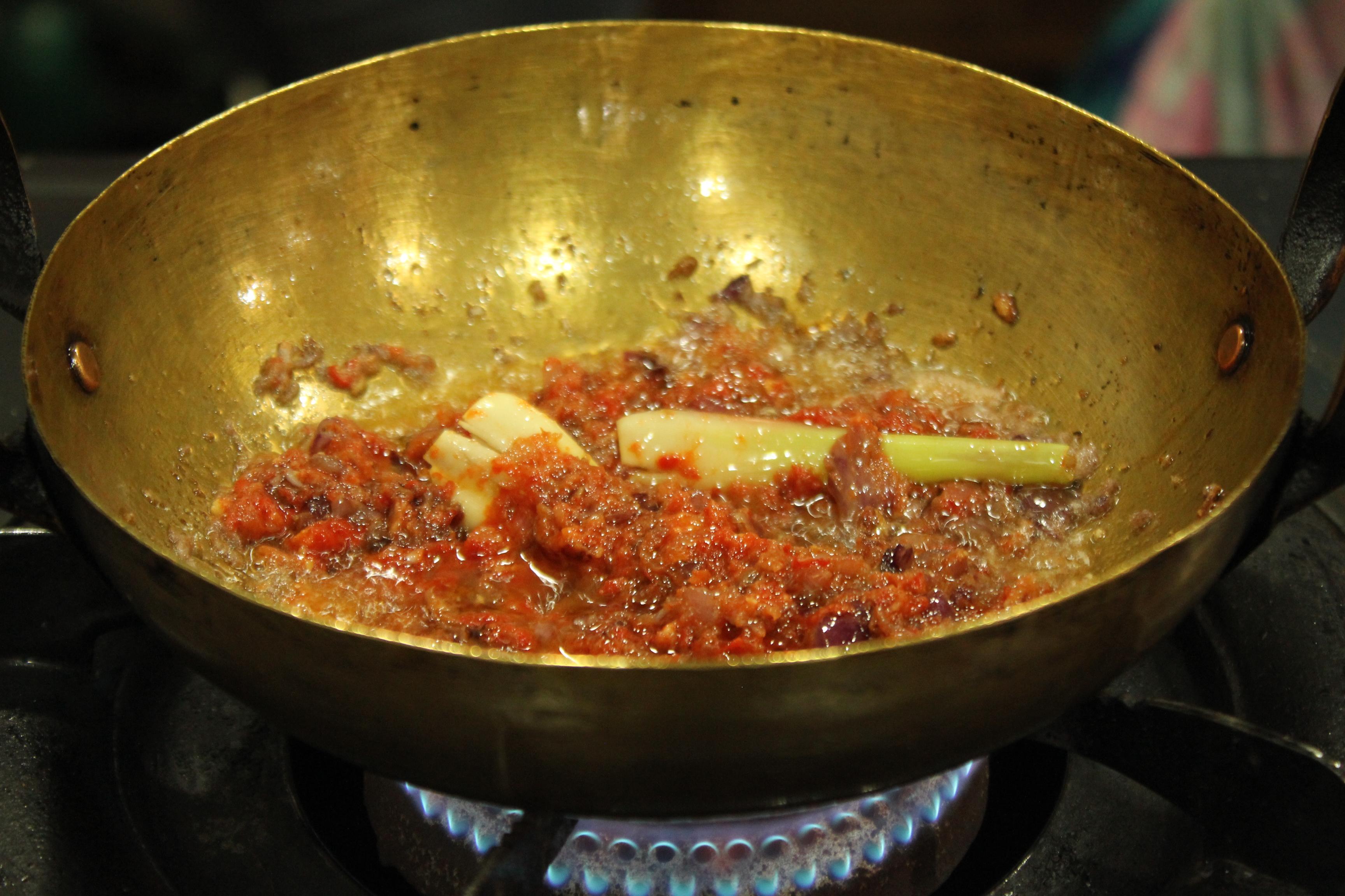 My saucy Sambal Udang
