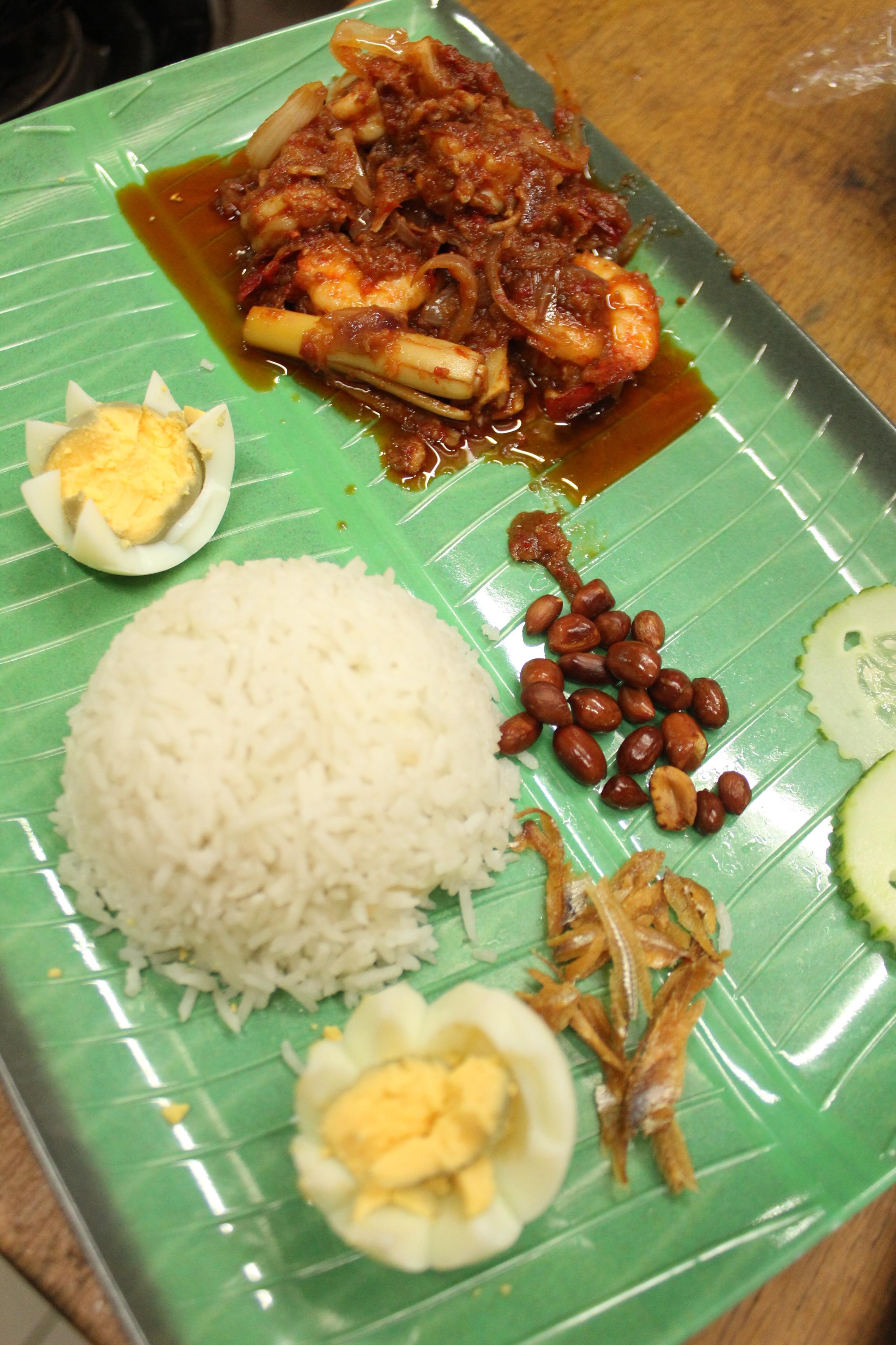 My Nasi Lemak and Sambal Udang